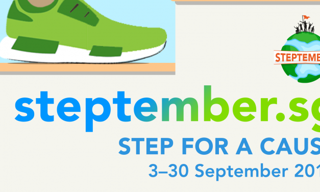 Step for a cause with Cerebral Palsy Alliance Singapore this Steptember