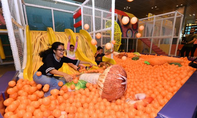 Jump into a series of exclusive activities and promotions at Changi Airport until 13 October