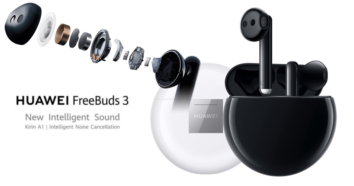 HUAWEI FreeBuds 3 – because having a smartphone is not enough, you need intelligent sound as well - Alvinology