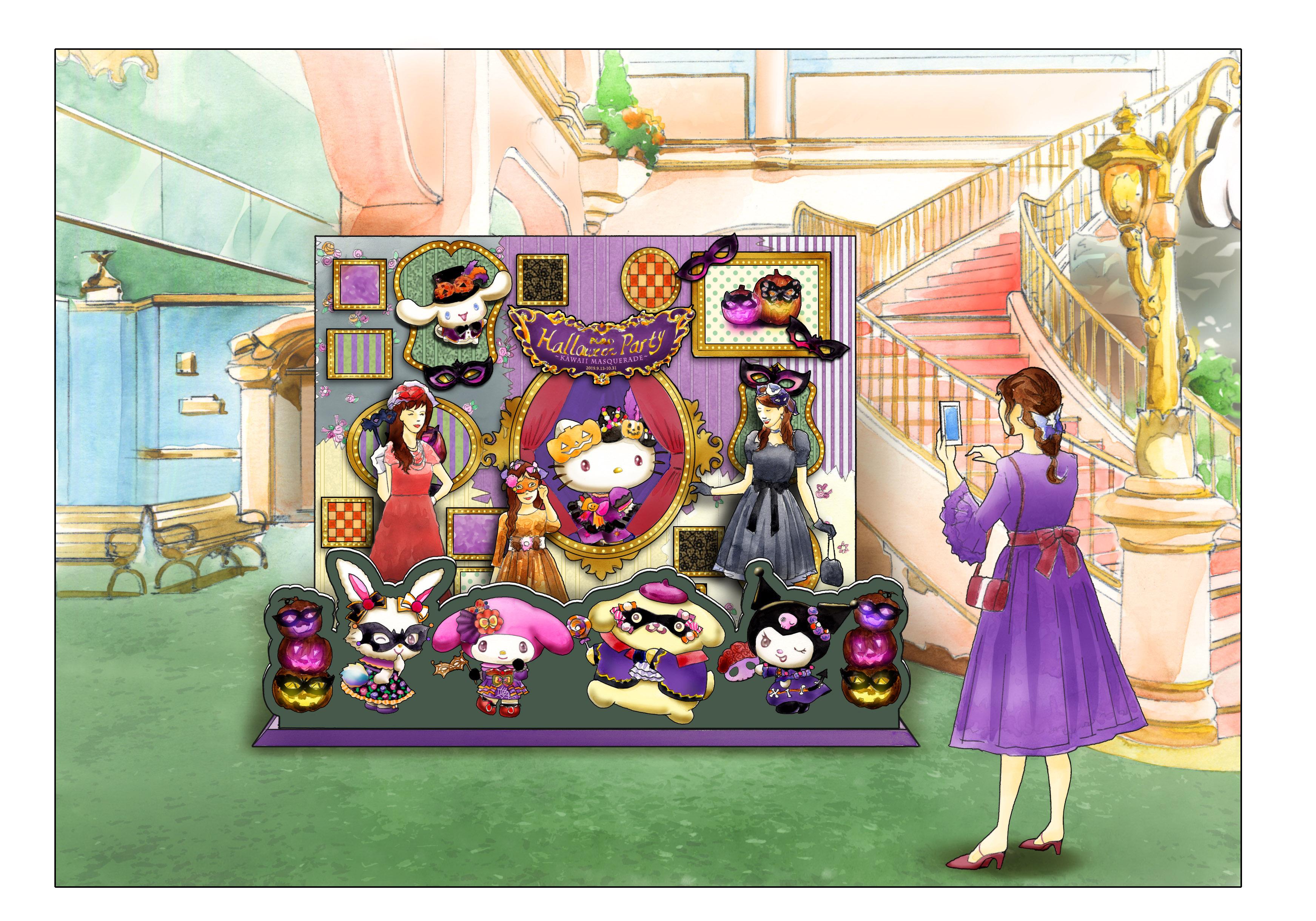 Witness Hello Kitty's scary side at Hello Kitty Land Tokyo - Kawaii Masquerade - this Halloween - Alvinology