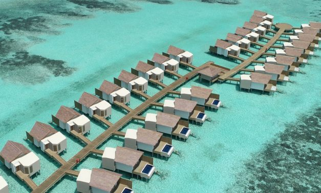 Hard Rock Hotel finally opens in the Maldives at the heart of Emboodhoo Lagoon