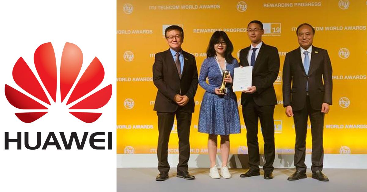 Huawei scoops Sustainable Impact Award at ITU Telecom World Awards Ceremony 2019