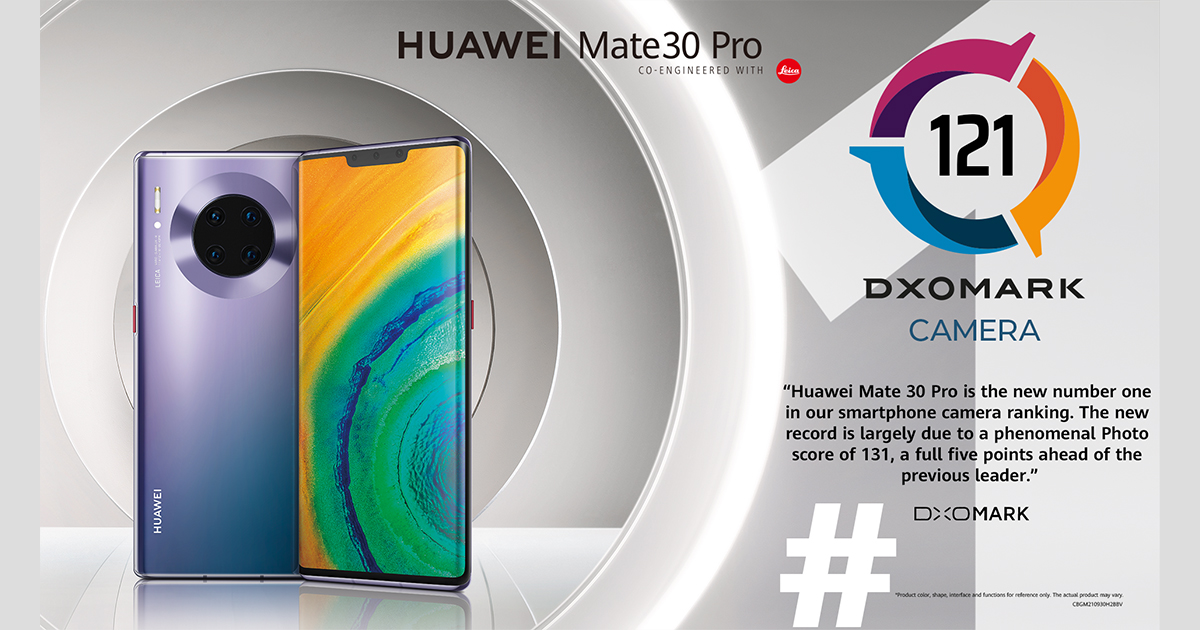 The HUAWEI Mate 30 Pro camera ranks number one in overall camera performance - Alvinology