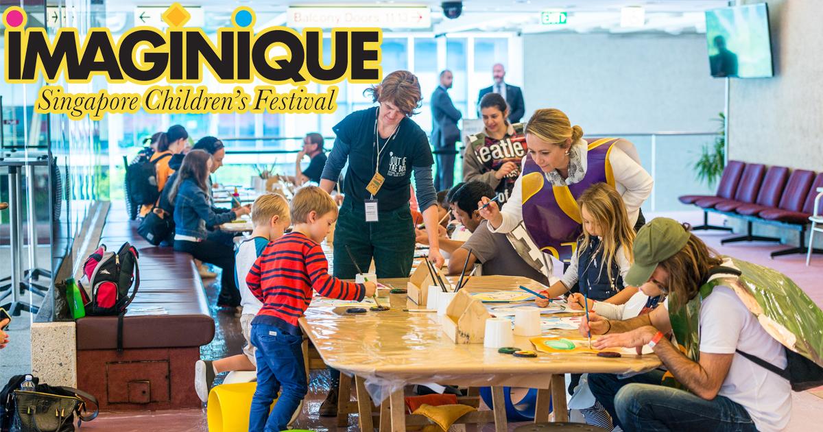 IMAGINIQUE 2019 - Inaugural Singapore Children's Festival featuring world-class performance - Alvinology