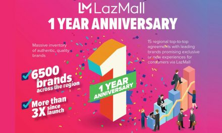 LazMall celebrates 1st Anniversary in time for Lazada's 9.9 Big Discovery Sale- shop now!