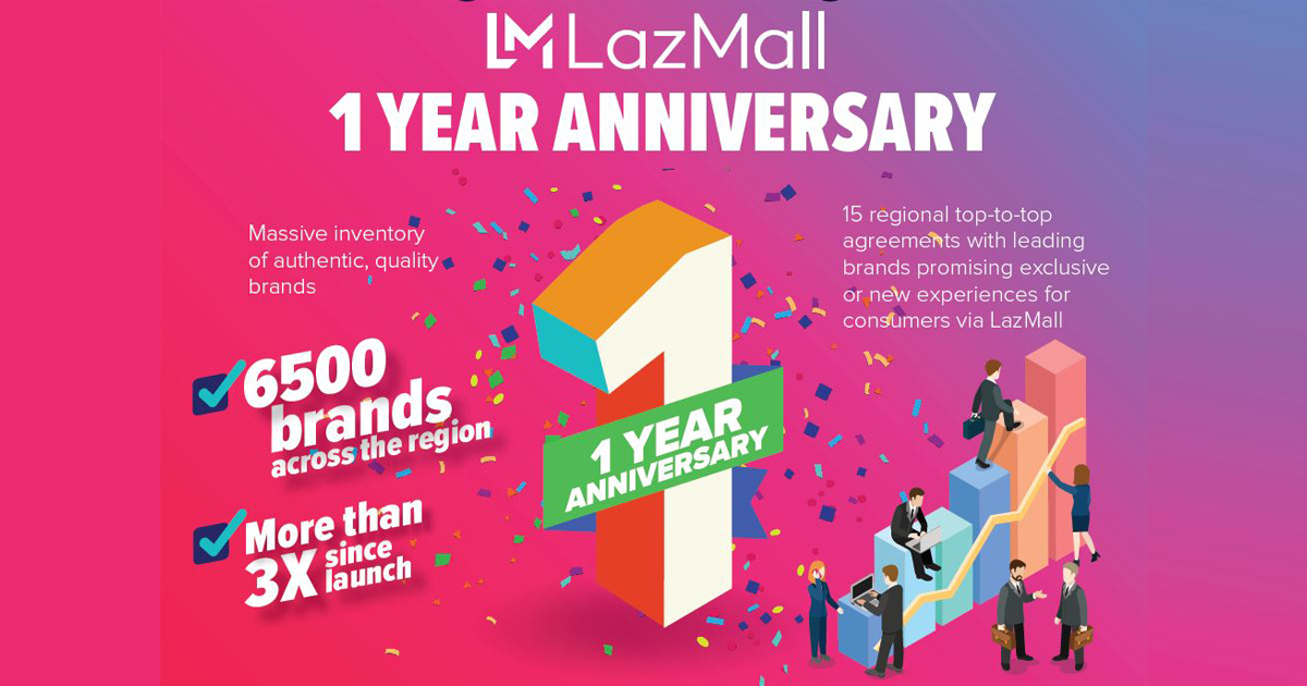 LazMall celebrates 1st Anniversary in time for Lazada's 9.9 Big Discovery Sale- shop now! - Alvinology