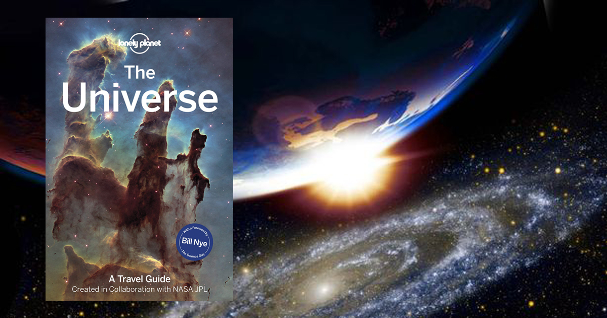 "The world's first Travel Guide to ""The Universe"" is worth US$29.99 and only has 628 pages – know more"