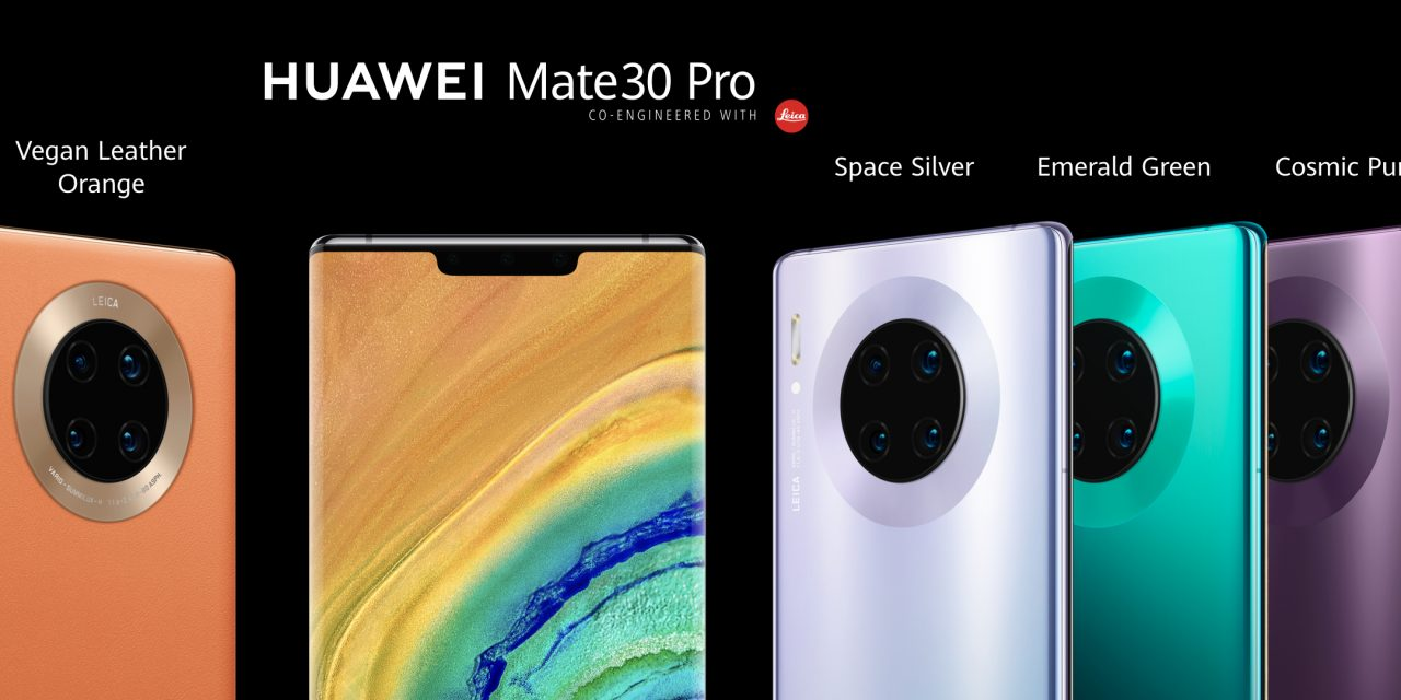 Huawei's new Mate 30 series redefines smartphone videography, AI sensing, and interactive touch