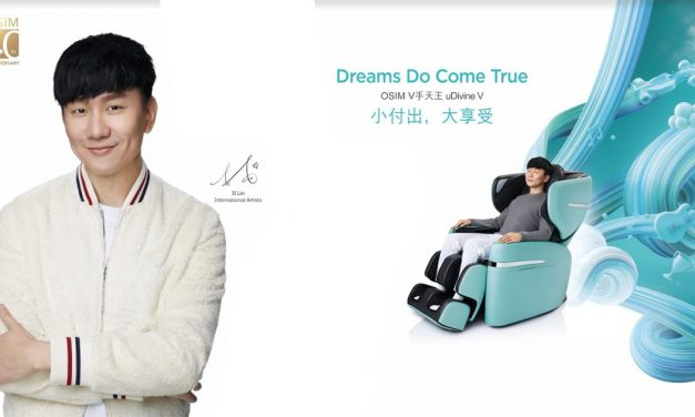 Dream Big with OSIM uDivine V – all the relaxing massage you need melded in one chair