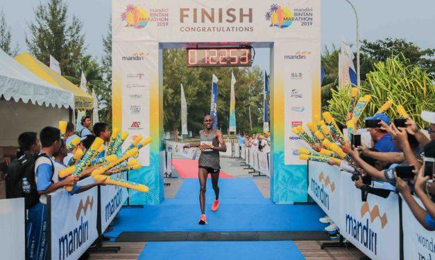 Mandiri Bintan Marathon kicks-off with over 3,000 participants from over 35 countries