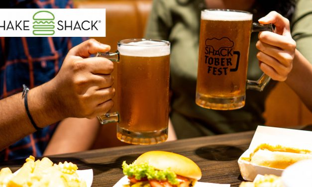 Shacktoberfest! Raise a stein of craft beer and revel in live music at Shake Shack Singapore