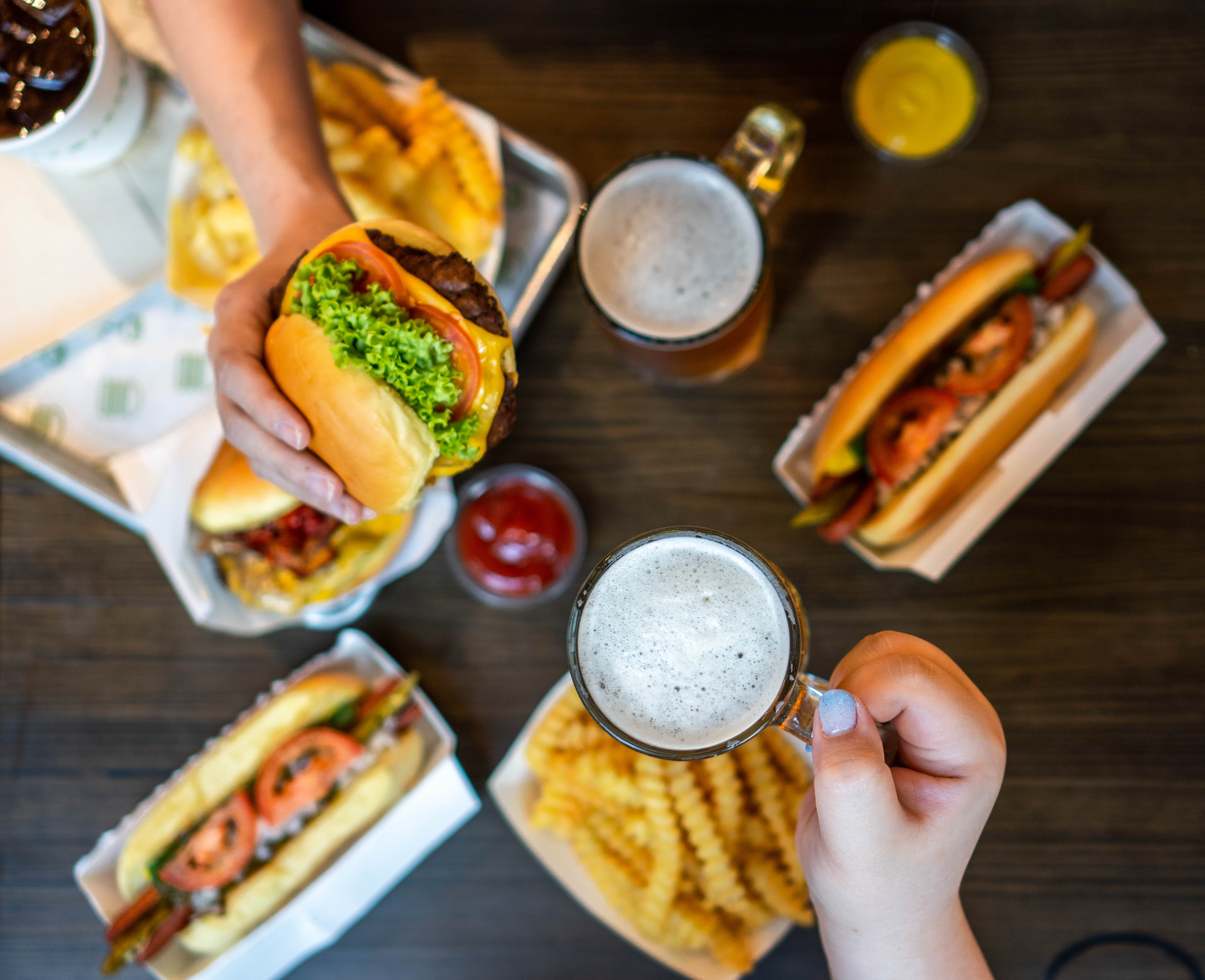 Shacktoberfest! Raise a stein of craft beer and revel in live music at Shake Shack Singapore - Alvinology
