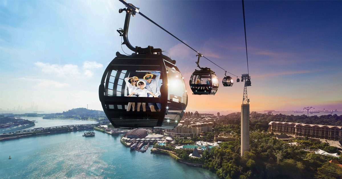 Get a Singapore Cable Car Sky Pass round trip ticket for only S$4.50 - here's how - Alvinology