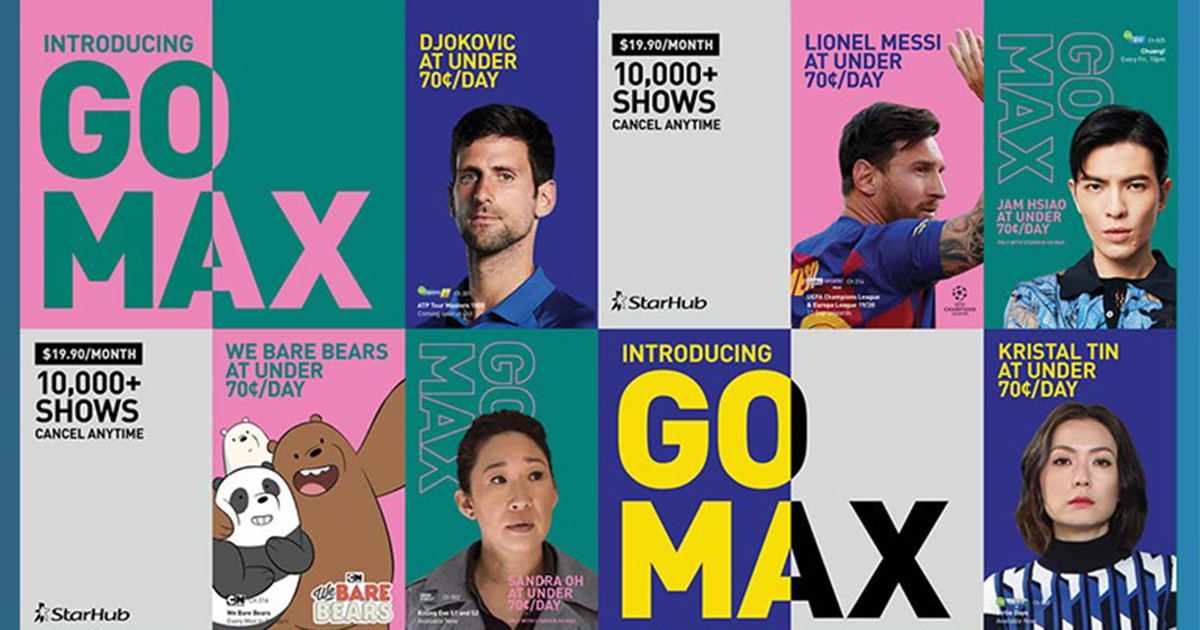 Goodbye old school TV, hello unbeatable entertainment with Go Max on StarHub Go for only $19.90 - Alvinology