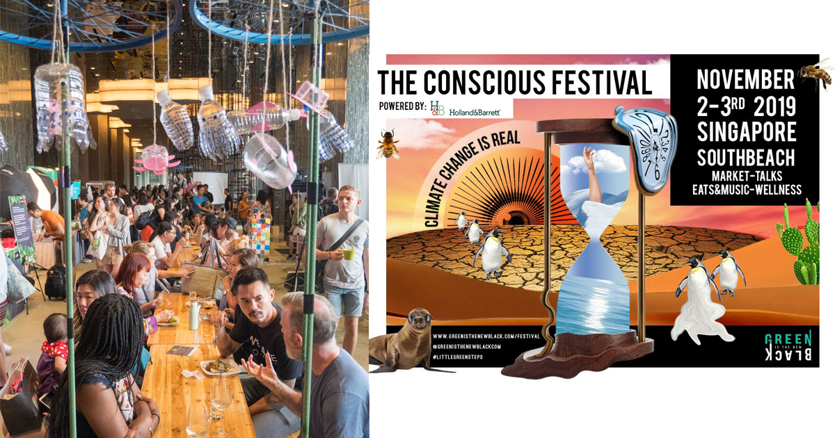 The Conscious Festival by Green Is The New Black is back because Climate Change is Real