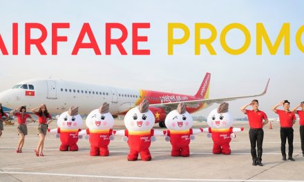 EYES HERE! Promotional tickets as low as MYR0 available at VietJet from 24 – 26 September 2019