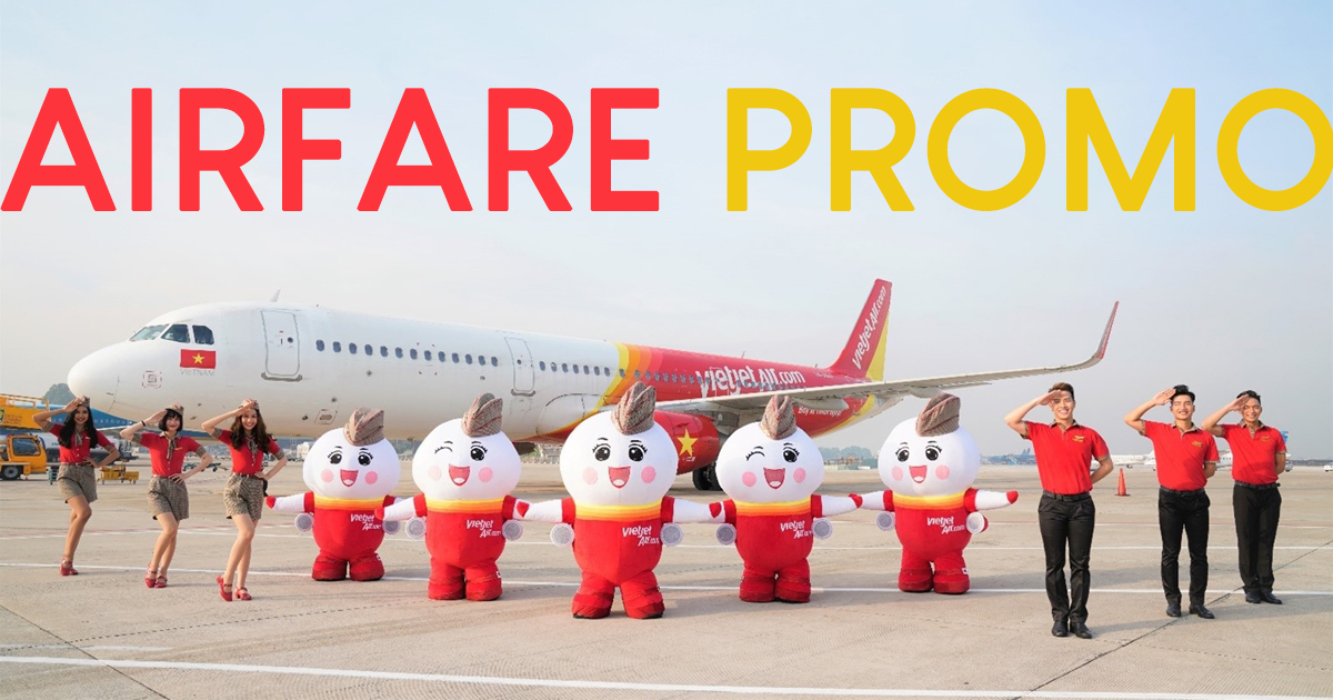 EYES HERE! Promotional tickets as low as MYR0 available at VietJet from 24 – 26 September 2019 - Alvinology