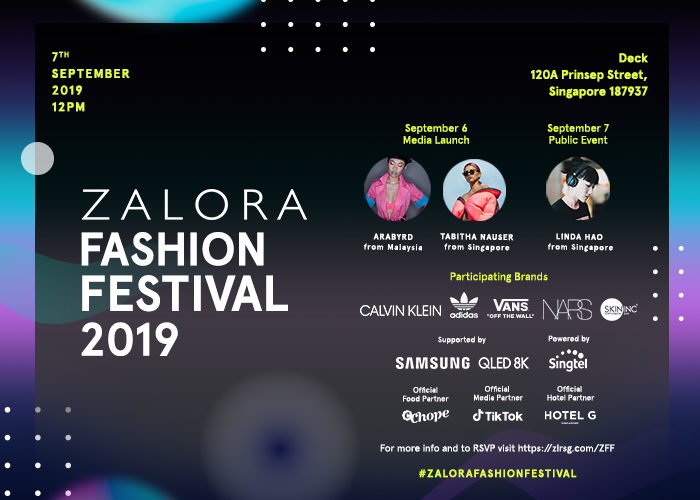 Explore interactive themed fashion and beauty rooms at the ZALORA Fashion Festival