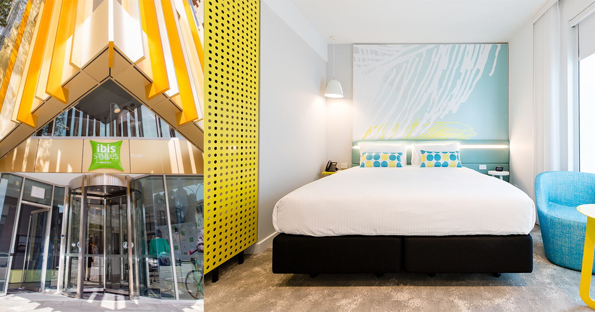 ibis Styles East Perth - The world's largest high-rise modular hotel - Alvinology