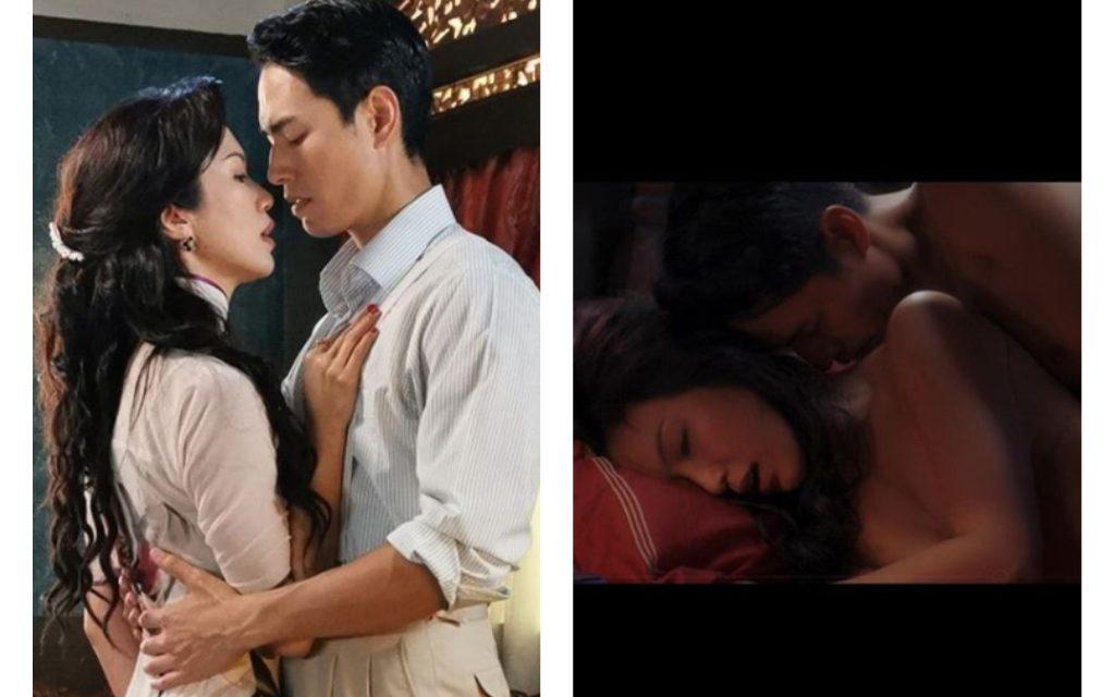 "Joanne Peh nude scene with Taiwanese model Jeff Chou appears in ""Last Madame"" drama"