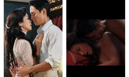 "Joanne Peh nude scene with Taiwanese model Jeff Chou appears in ""Last Madame"" drama"