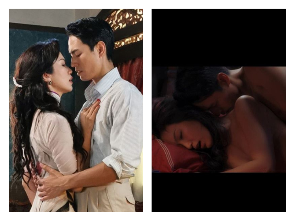 "Joanne Peh nude scene with Taiwanese model Jeff Chou appears in ""Last Madame"" drama - Alvinology"