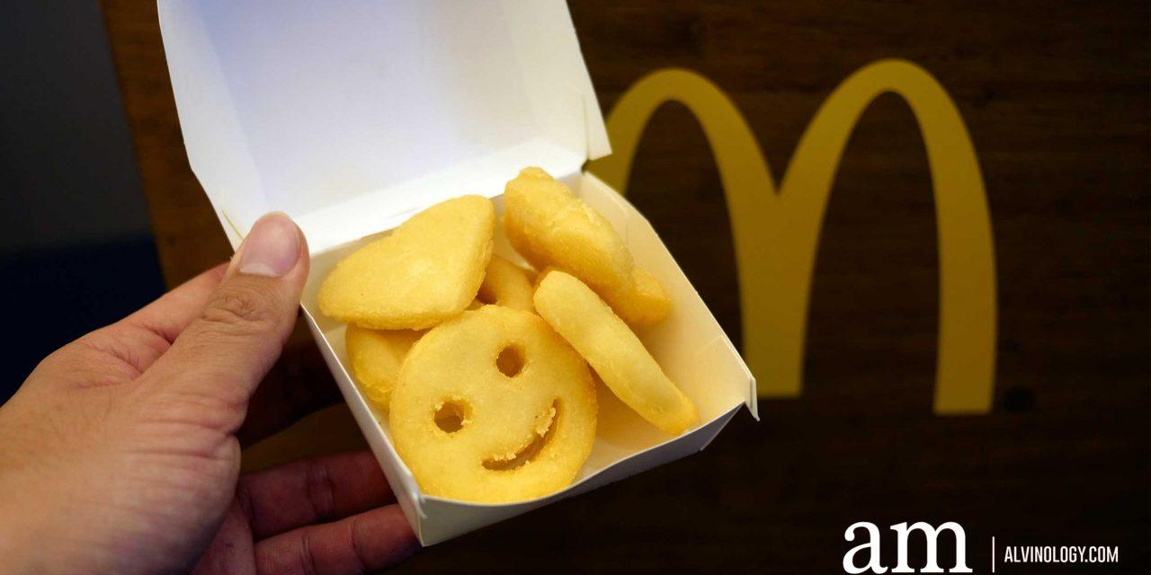 McDonald's Singapore introduces Emoji Potato, Grilled Chicken Sandwich, Crispy Fish Sandwich and brings back Scrambled Egg Burger