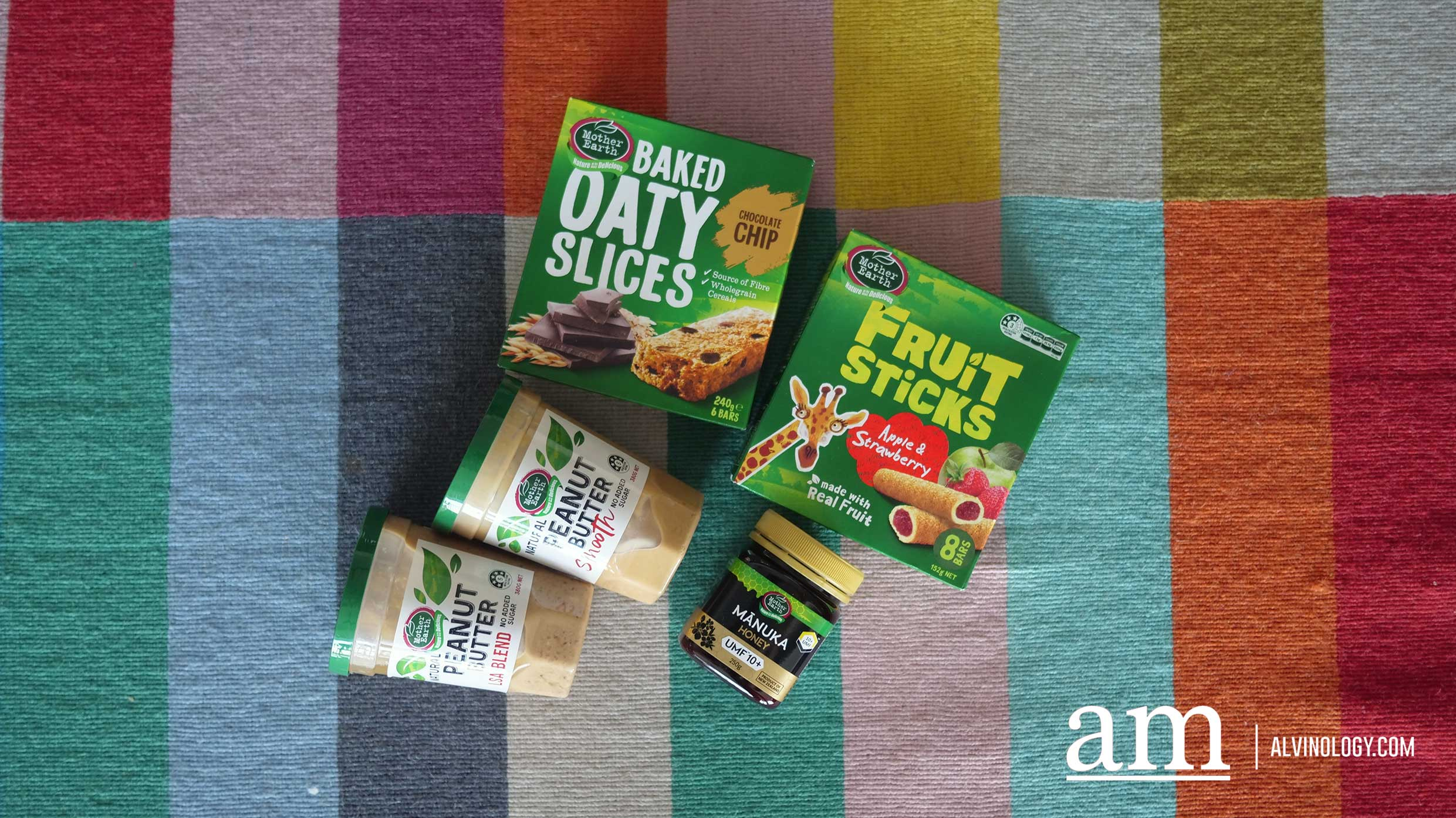 [Giveaway] Wholesome, Minimally-processed Food Products from Mother Earth are Just What You Need for Healthy Snacks - Alvinology
