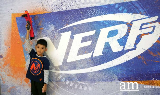 NERF x Robinsons First Ever Pop-up Store in Singapore at Raffles City