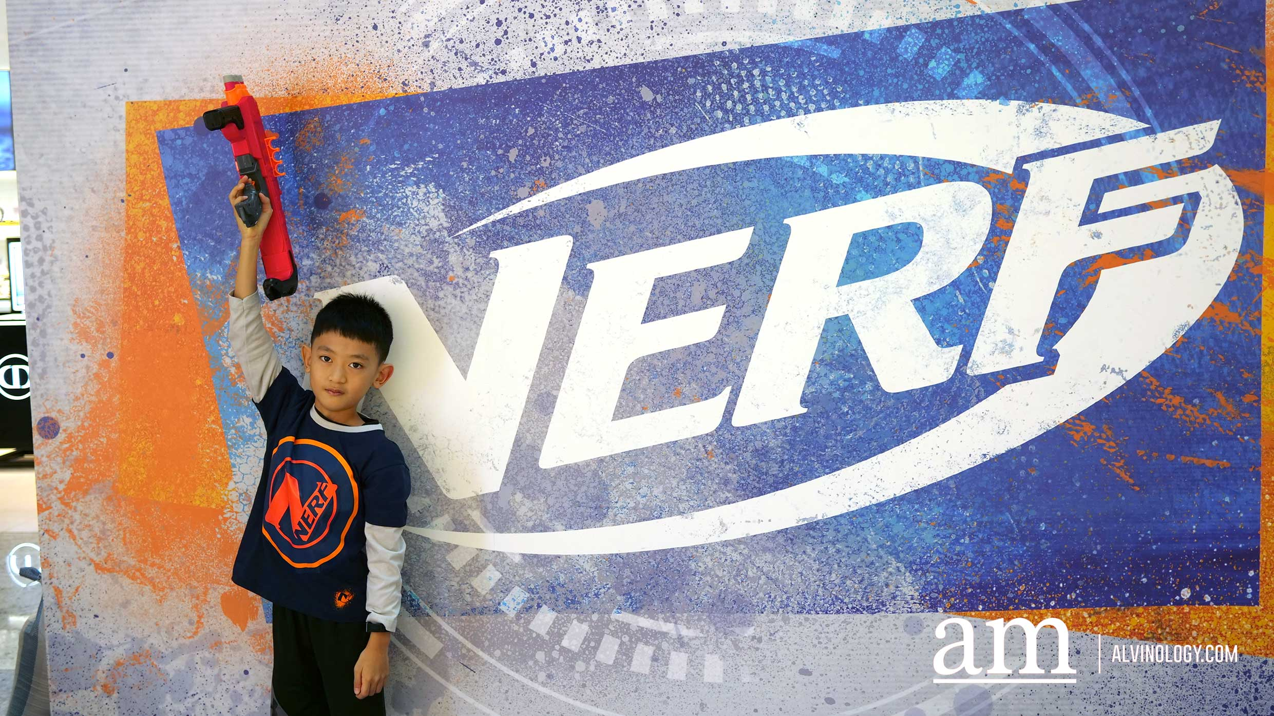 NERF x Robinsons First Ever Pop-up Store in Singapore at Raffles City - Alvinology