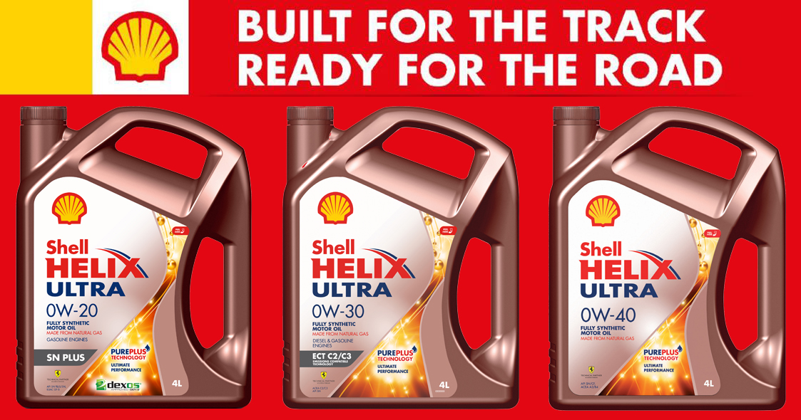 Shell launches new Helix Ultra 0W and a Scuderia Ferrari merchandise giveaway