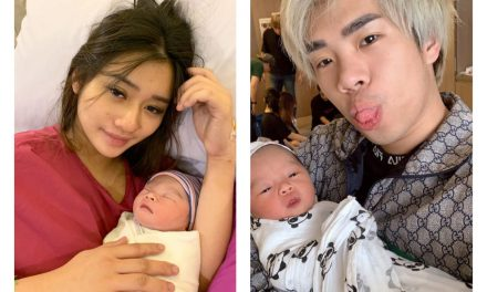 Jianhao Tan's 6-day-old newborn daughter, Starley Tan, has almost 70,000 followers