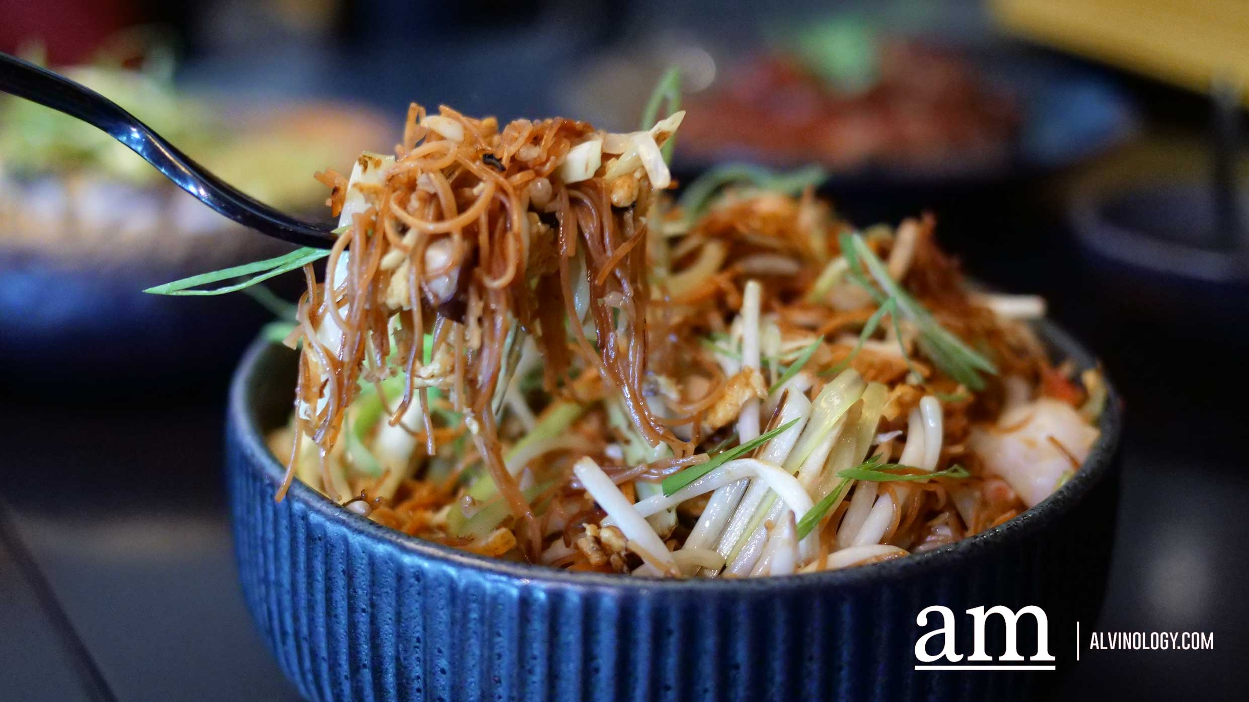 Stir-fried Mee Sua ($22++, also available in medium $33++ and large $44++)