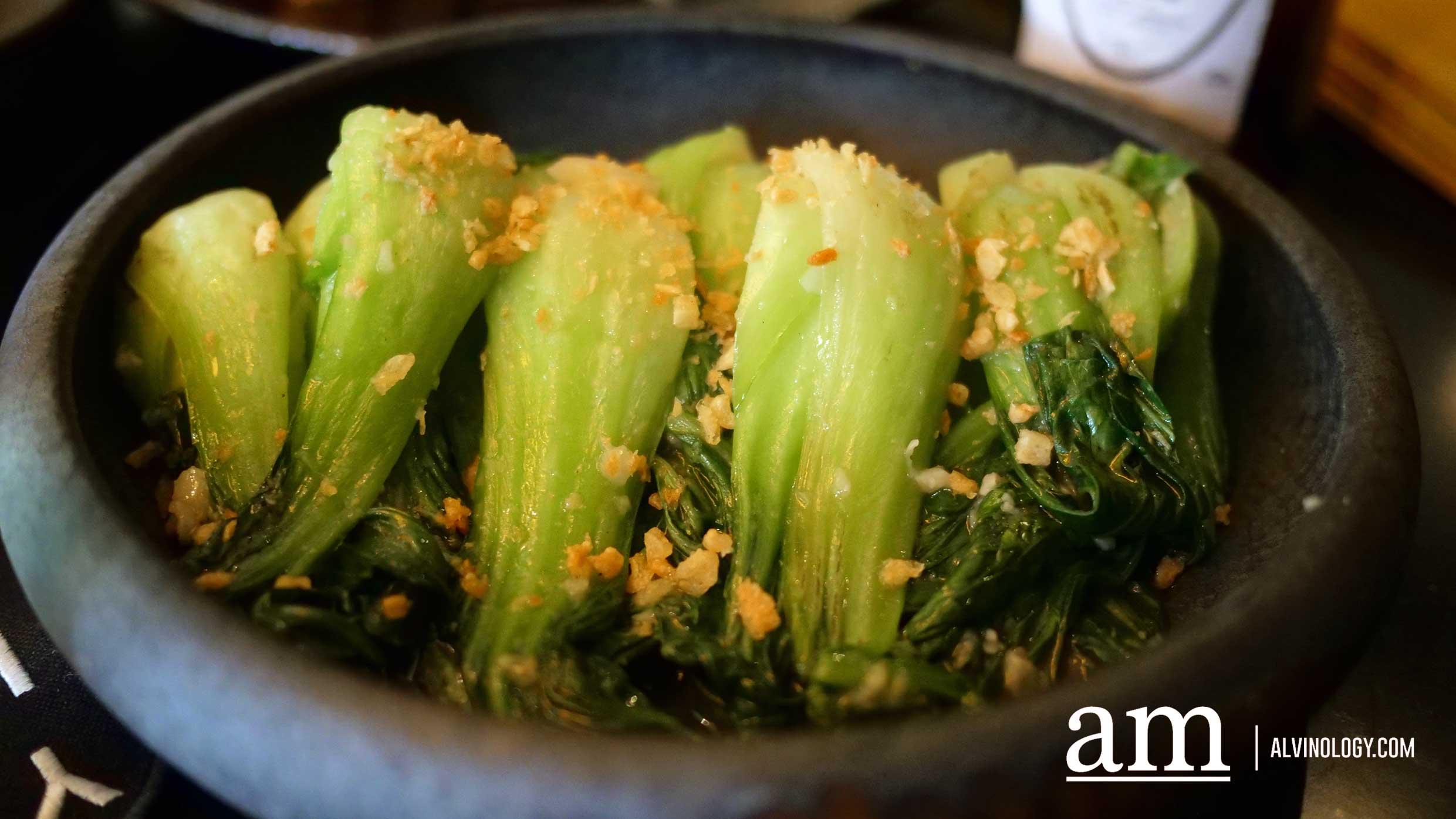Locally Farmed Shanghai Greens ($14++)