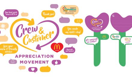 McDonald's Crew-Customer Appreciation Movement – customers get a Tulip Appreciation Cards from the crew