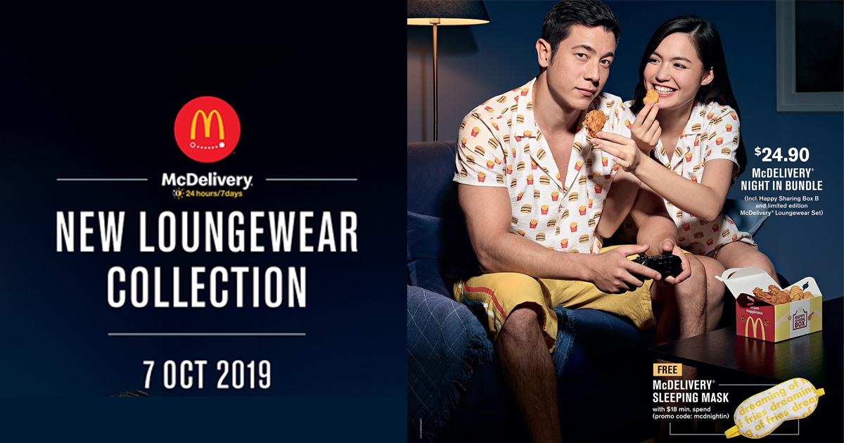 McDonald's McDelivery Night In – Get limited-edition deals and merchandise when you order