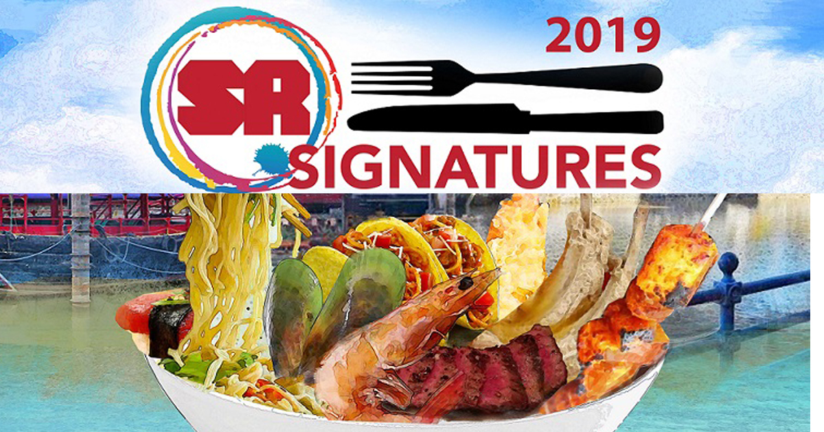 Here are the activities and food promos you can find during the Singapore River at SR Signatures 2019 - Alvinology