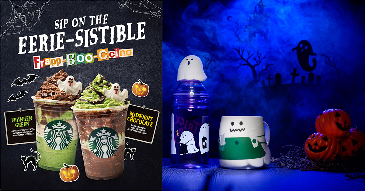 Starbucks Halloween Themed Treats And Merch Are Here These