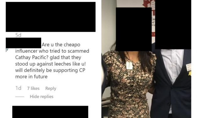 """Influencer Jacqueline Ng mistaken as woman banned for life in the Cathay Pacific """"free business class upgrade"""" fraud case"""