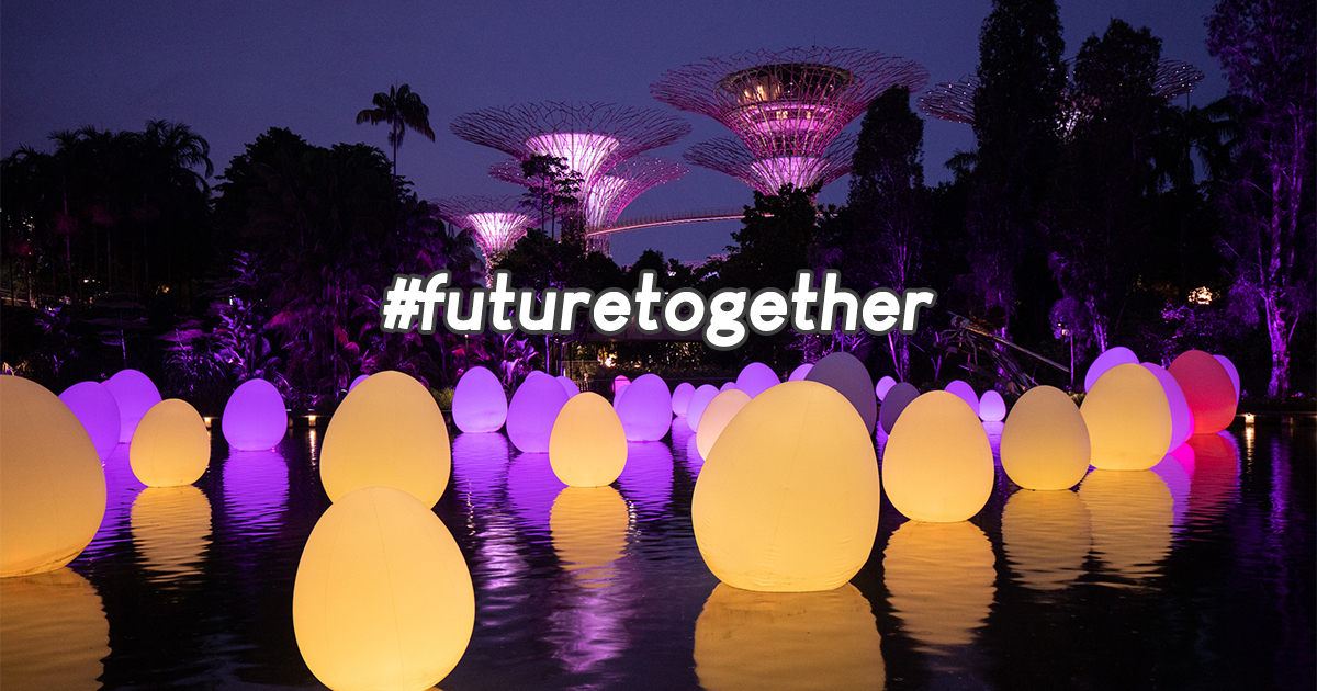#futuretogether Immersive Art Exhibition – free admission for Singapore residents (see more details here) - Alvinology