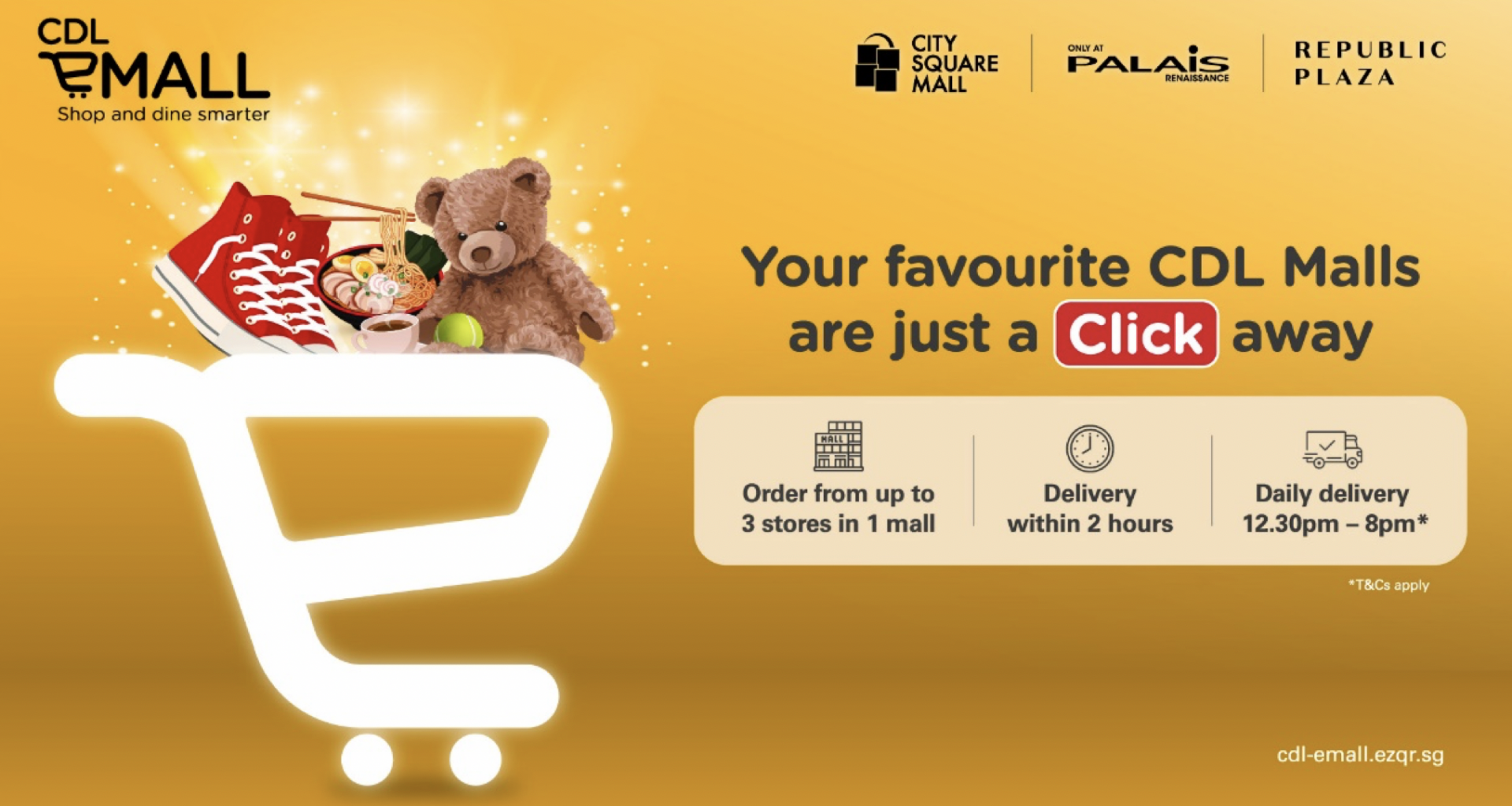 CDL eMall – new e-commerce and Online Food Delivery Platform where you can simply click and shop away this holiday season from City Square Mall - Alvinology