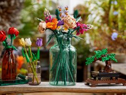 Have your own LEGO Garden with this new decorative, made with plant-based plastic LEGO Botanical Collection! - Alvinology