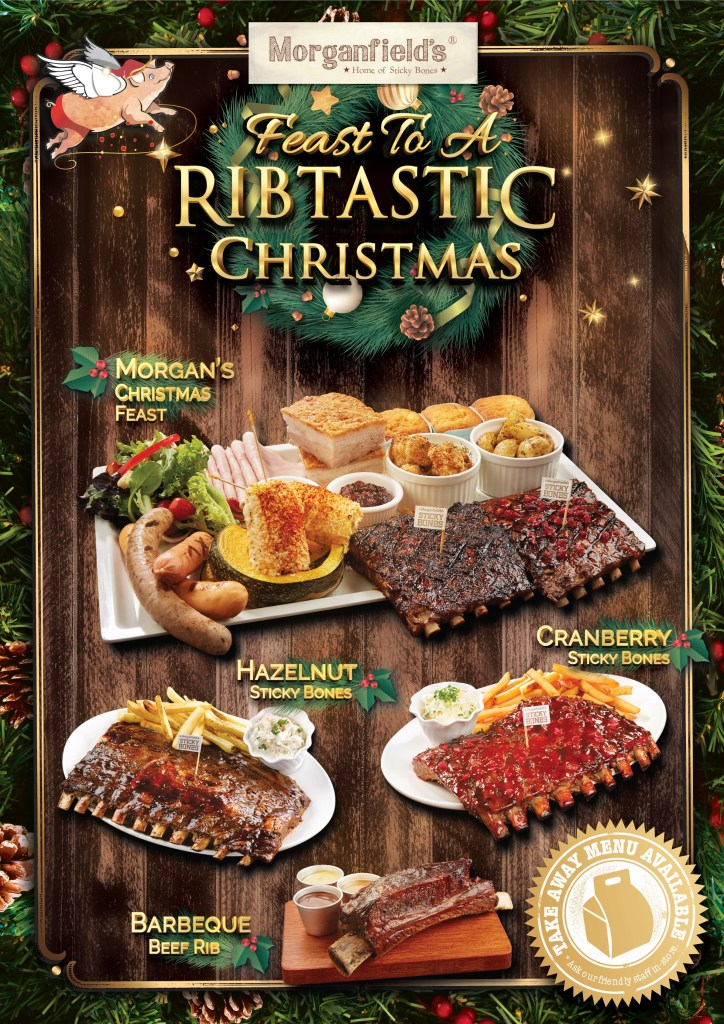 Morganfield's Delivery Service - Feast to A Rib-Tastic Christmas - Alvinology