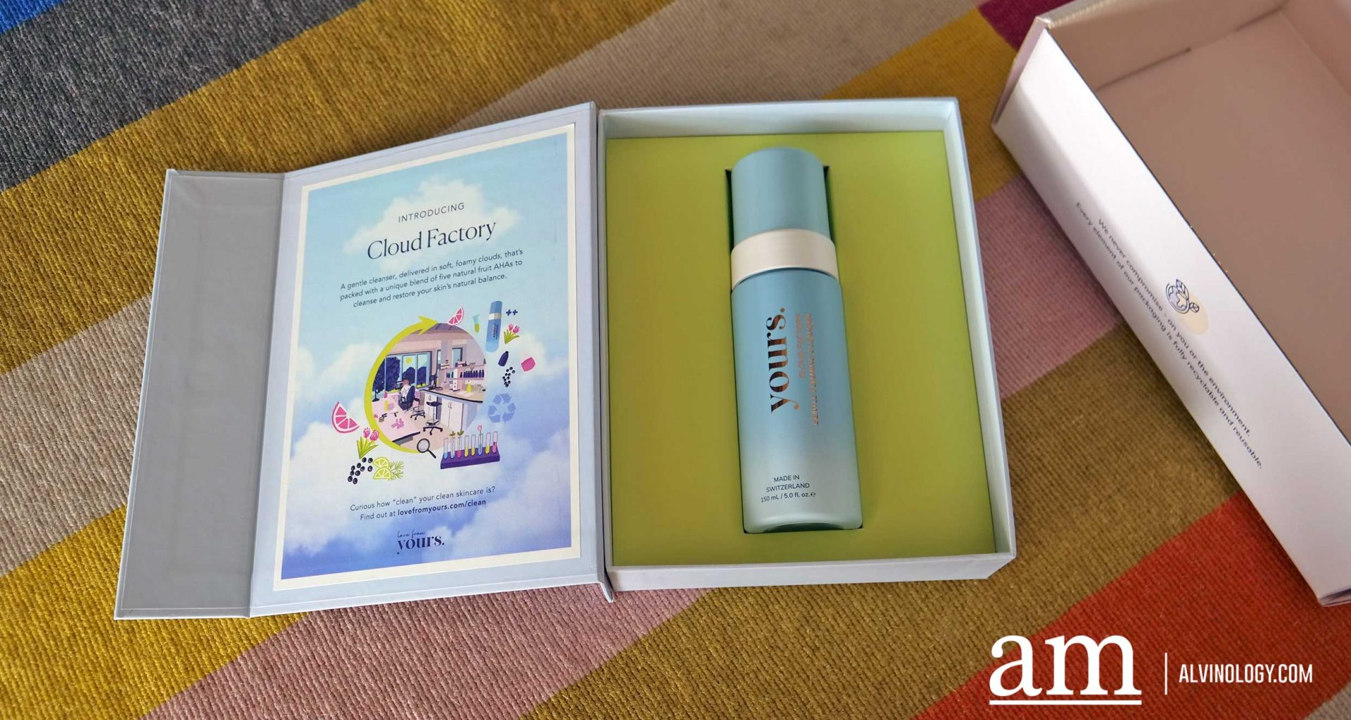 [Vegan, Cruelty-Free And Environmentally-Friendly]New Cleanser from Singapore skincare brand, Yours - Alvinology