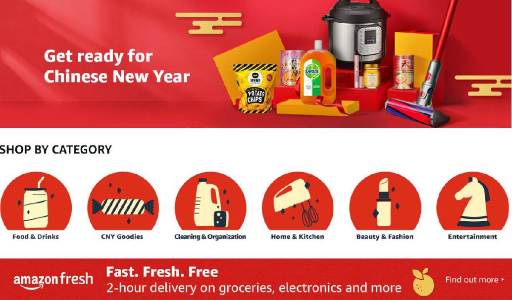 [PROMO] Here the Best CNY Deals you can find on Amazon Singapore to ignite that festive mood - Alvinology