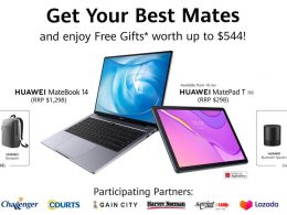 Pre-order HUAWEI MateBook 14 from 9 – 15 January and enjoy free gifts worth S$544! - Alvinology