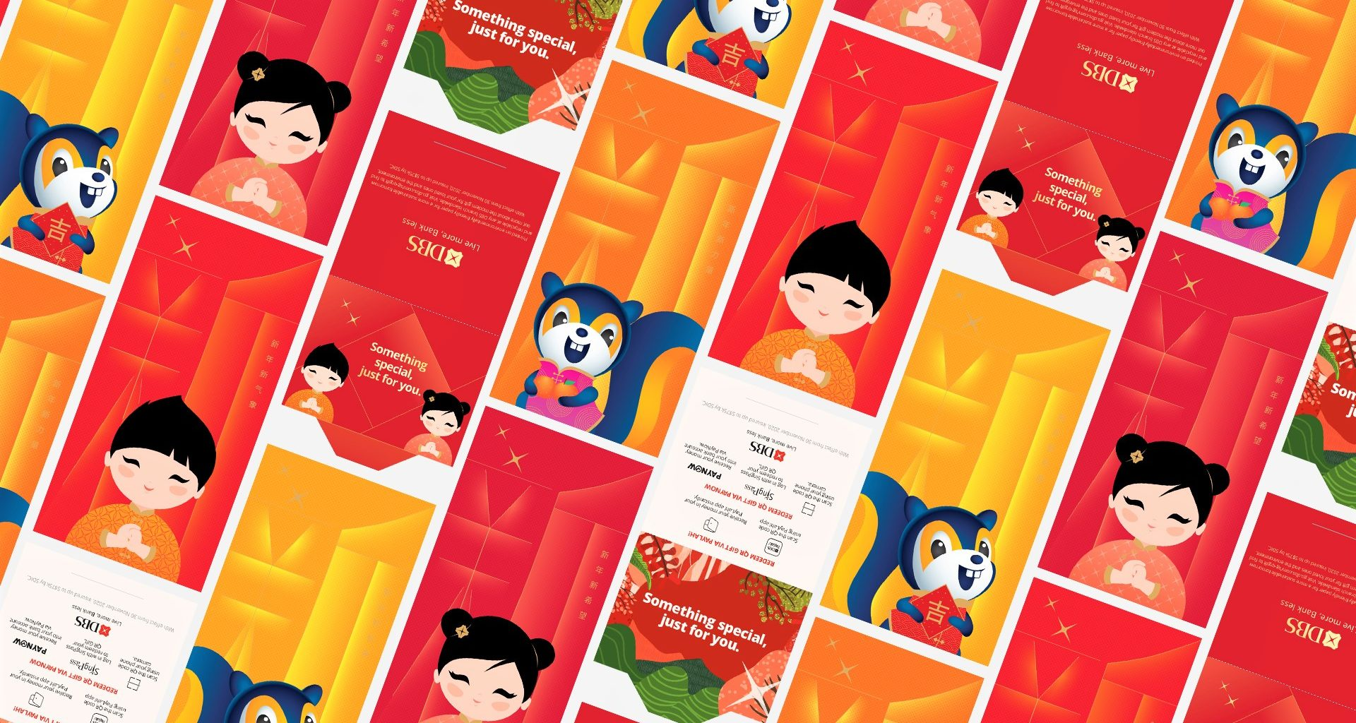 DBS/POSB encourages a contactless, hassle-free gifting this CNY with digital options: DBS QR Gift and DBS eGift - Alvinology