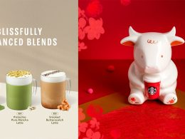 Starbucks Singapore brings tea-forward beverages and heartier options this 2021 – you can now choose between unsweetened, less sweet, and regular version - Alvinology