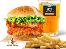 The Secret is in the Sauce: Burger King's New Chilli Crab Burgers and Fries - Alvinology