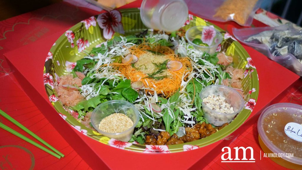 Lohei at home in luxury with Season's Best this CNY - Alvinology